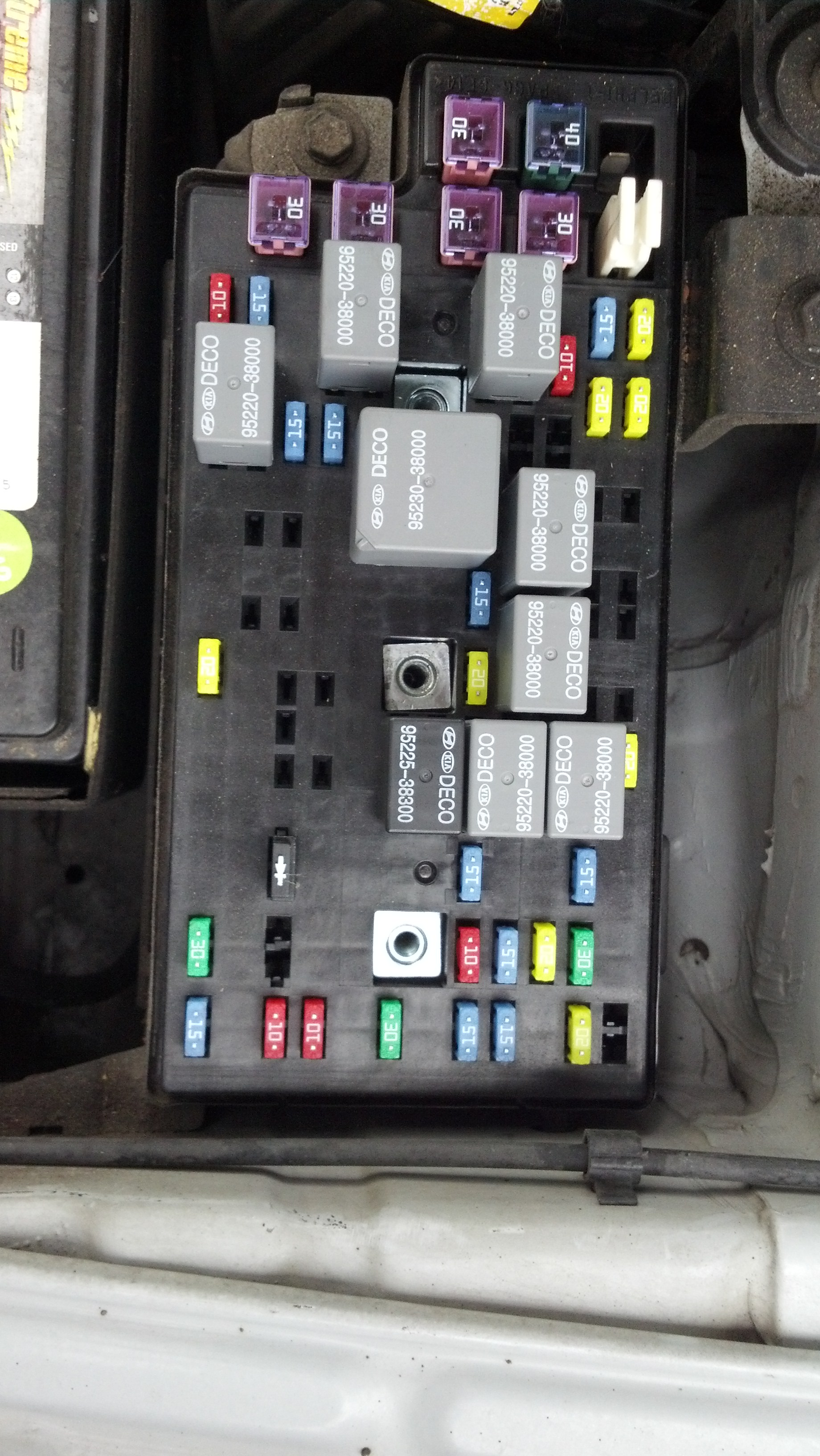 2006 kia amanti fuse box 2006 wiring diagrams