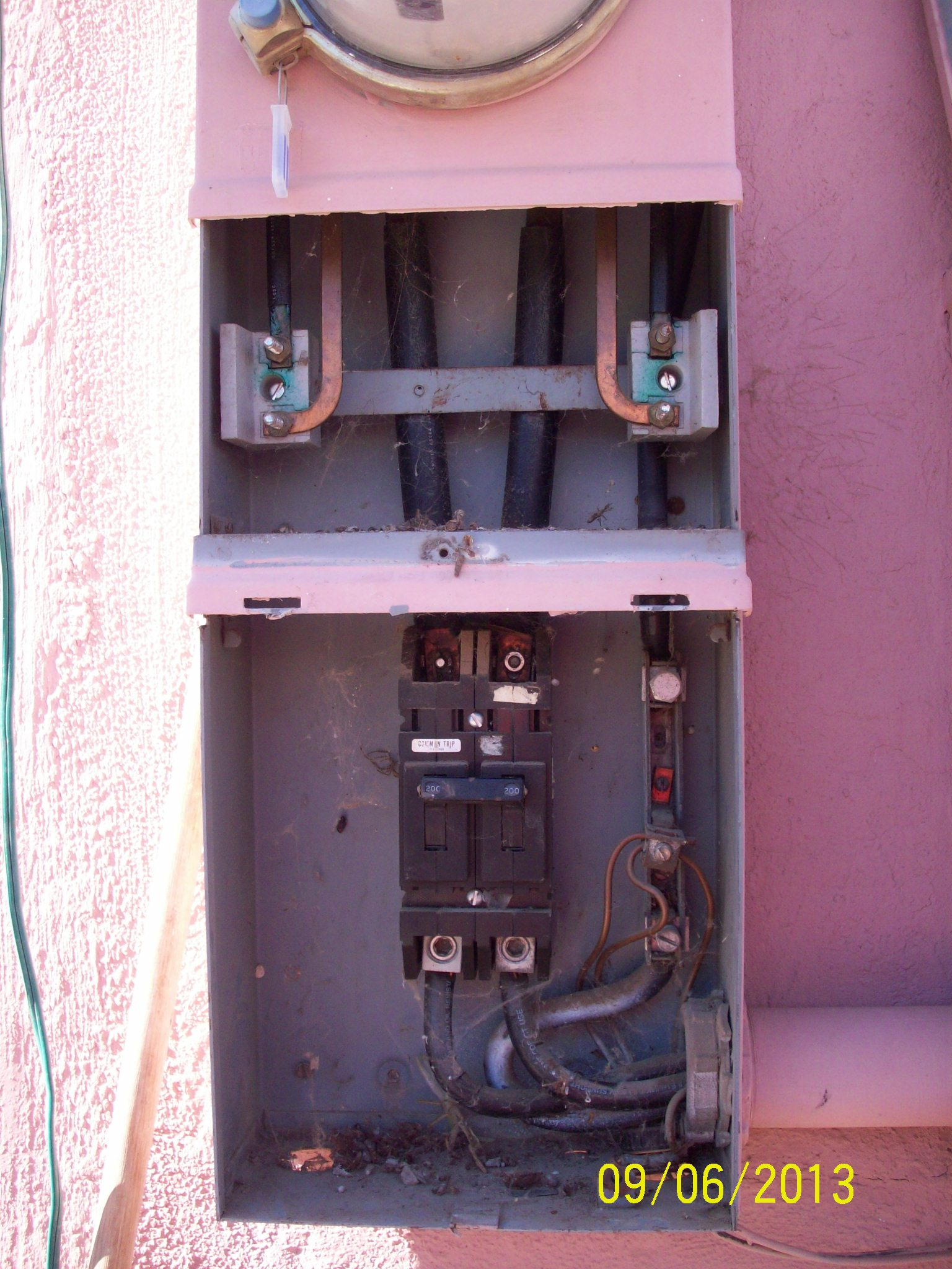 400 amp Circuit main breaker