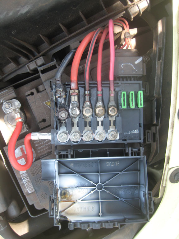 vw beetle fuse box the alternator and compressor after i cables