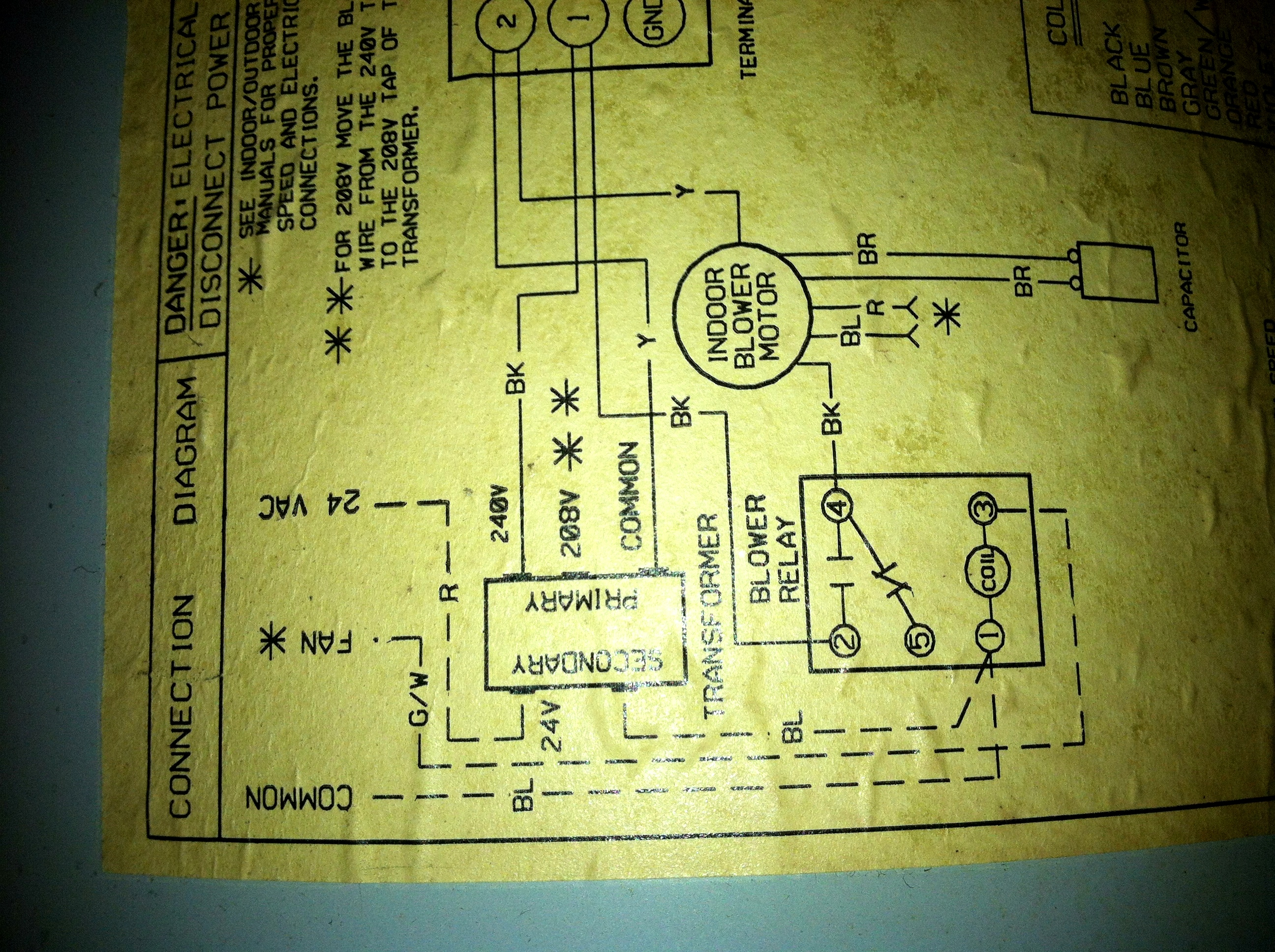 Tempstar Heat Pump Honeywell Thermostat Wiring Colors Carrier Schematic Wi Fi Diagram Get 2 Stage