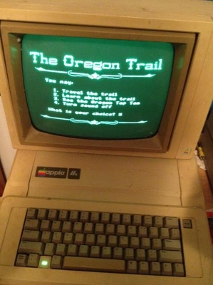 Did you ever play #TheOregonTrail computer game?