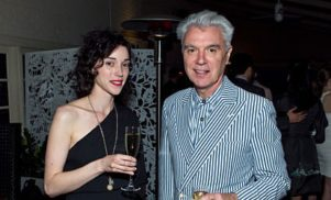 David Byrne and St. Vincent to release collaborative album