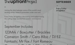 Photek, MJ Cole, Mike Dehnert and more play Upfront Project in September