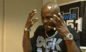 DMX Googles himself for the first time, completely loses the plot
