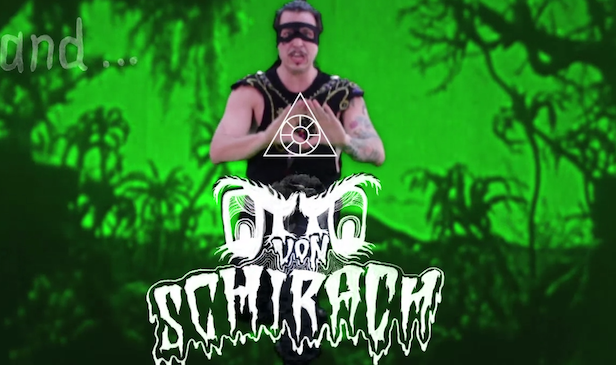 Watch Otto von Schirach's oddball video for 'When Dinosaurs Rules The Earth'