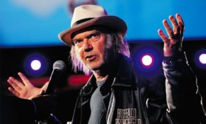 Neil Young details hi-fi music service, speaks about Kurt Cobain's suicide note