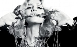 Madonna makes onstage tribute to persecuted Pakistani education campaigner Malala Yousafzai – by stripping down to a thong