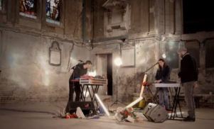 Watch Darkstar perform their next single, 'Amplified Ease'