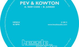 Stream Peverelist and Kowton's collaborative single for Hessle Audio, 'Raw Code'