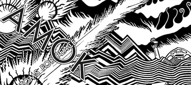 Atoms for Peace share live video, deluxe AMOK artwork