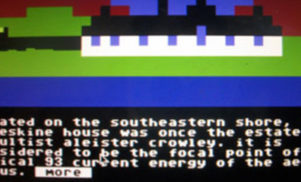 Legowelt gives away his score for Commodore 64 game Loch Ness