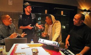 Timbaland says Nas, Jay Z, and Justin Timberlake have recorded a track together