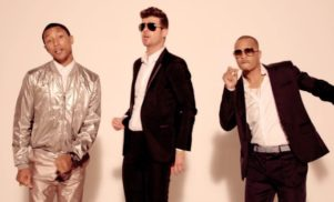 Robin Thicke, Pharrell and T.I. sue Marvin Gaye's family to halt 'Blurred Lines' copyright claim