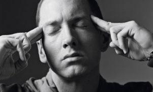 The cover art for Eminem's Marshall Mathers LP 2 revealed