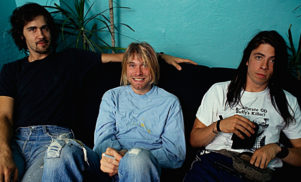 Listen to three Nirvana interviews from the early 1990s