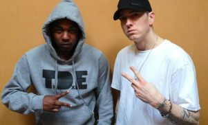 Listen as Kendrick Lamar joins Eminem on the head-scratching 'Love Game'