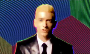 Eminem transforms into Max Headroom for 'Rap God' video