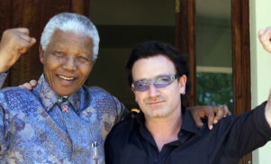 """Mandela lived a life without sanctimony"": Bono's tribute to Nelson Mandela"