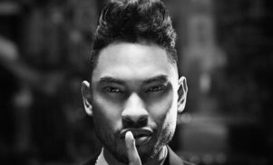 Miguel collaborating with Jessie Ware
