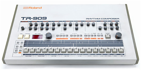 Roland also reviving the TR-909 drum machine