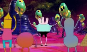 Watch the psychedelic cartoon video for Flume's 'Space Cadet' featuring Ghostface Killah and Autre Ne Veut