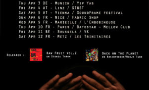 Ras G announces new worldwide tour, from Japan to Europe via Russia