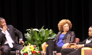 Watch Nas in a fascinating roundtable discussion with political activist Angela Davis about the US prison system