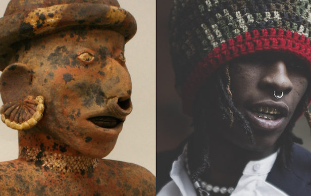 Check out the connections between rappers and ancient art
