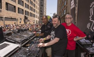 Listen to the five-hour set from the Larry Levan Street Party