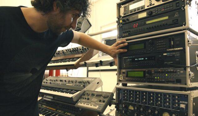 Check out Mathew Jonson's incredible studio on FACT TV