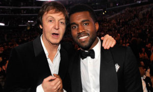 Kanye West is reportedly recording an album in secret with Paul McCartney