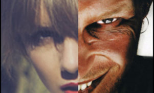 Someone has mashed up Aphex Twin and Taylor Swift