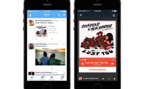 Twitter teams with Soundcloud for seamless audio streaming