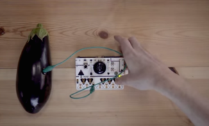Make a musical instrument out of anything with this experimental synthesizer