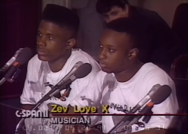 Watch a 19-year-old MF Doom address the US Senate
