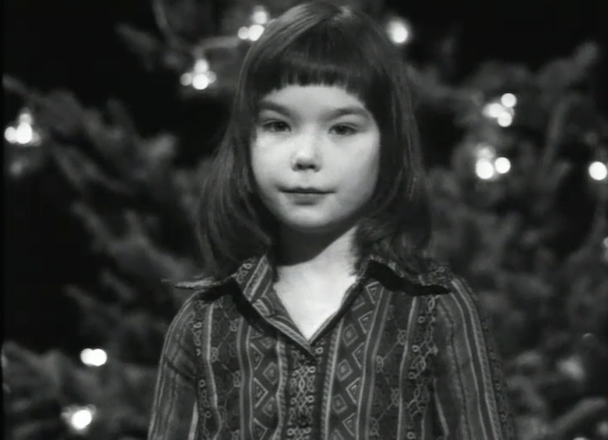 Watch an 11-year old Björk read the nativity story
