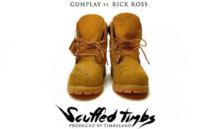 Stream Gunplay and Rick Ross' 'Scuffed Timbs', produced by Timbaland