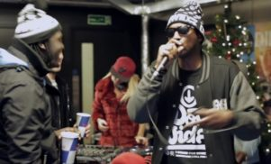 Watch a Christmas grime cypher with P Money, Flirta D and a Jingle Bells riddim by Flava D