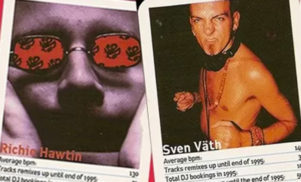 Amazing DJ trading cards from 1996 unearthed featuring Carl Craig, Juan Atkins, Laurent Garnier and more