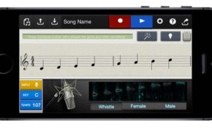 Turn a whistle into an entire track with Casio's new iOS app