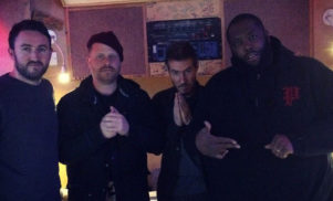 Run The Jewels back in the studio, with Massive Attack