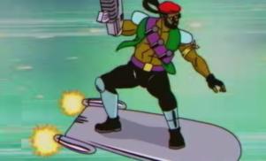 The Major Lazer cartoon series will premiere next month