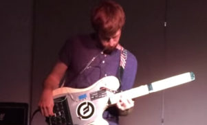 Check out this breath-controlled synth guitar based on the Moog Werkstatt