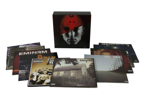 Eminem announces 10-LP vinyl box set