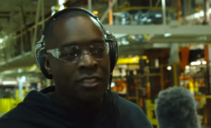 Watch Kevin Saunderson hunt for sounds at the Ford assembly plant