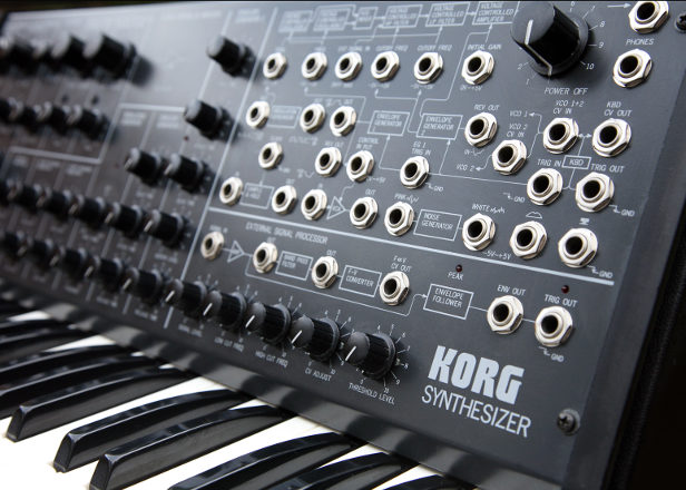 Grab a free Ableton Live Pack of samples from the Korg MS-20