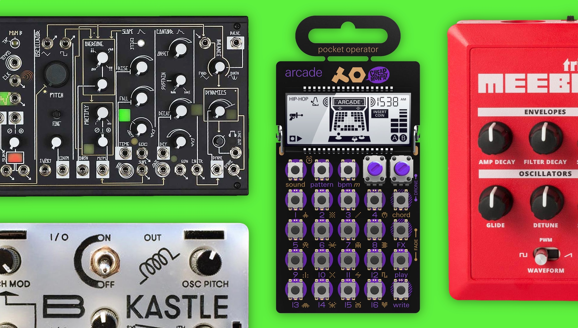 The 12 Best Affordable Pocket Sized Hackable Synthesizers Creative And Cool Ways To Reuse Old Circuit Boards 15