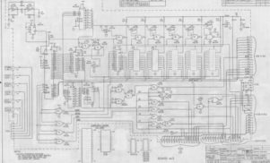 Intricate hand-drawn Moog schematics reveal vintage synth design process
