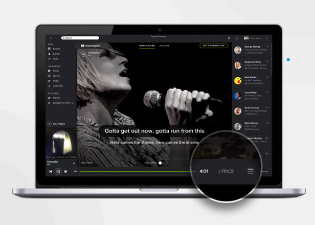 Spotify goes karaoke with lyrics update for desktop app
