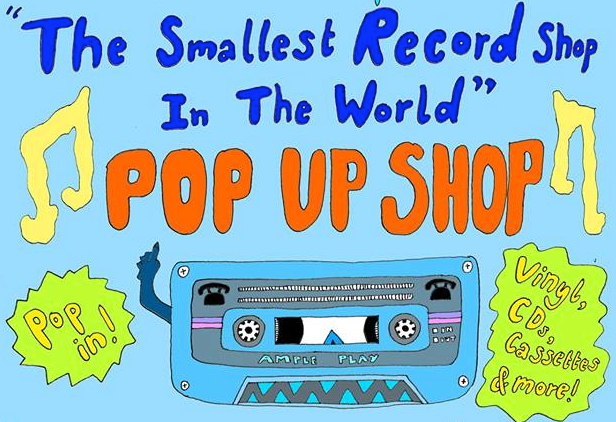 The world's smallest record shop returns to London next month